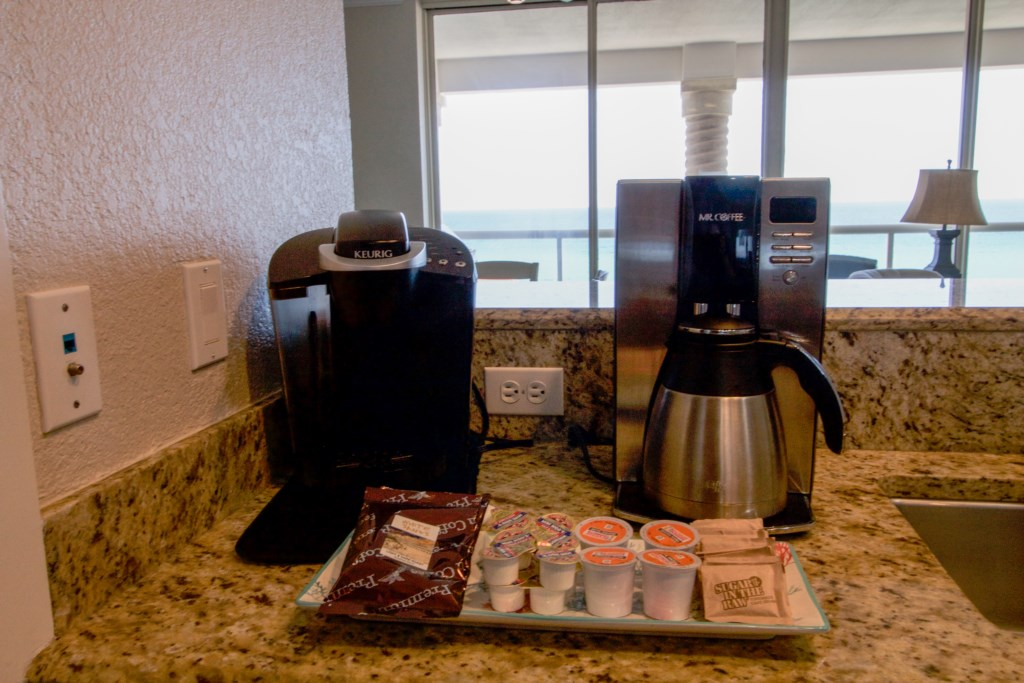 Coffee maker and Keurig