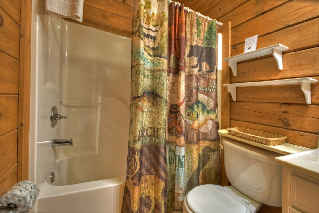 Shower/Tub bathroom