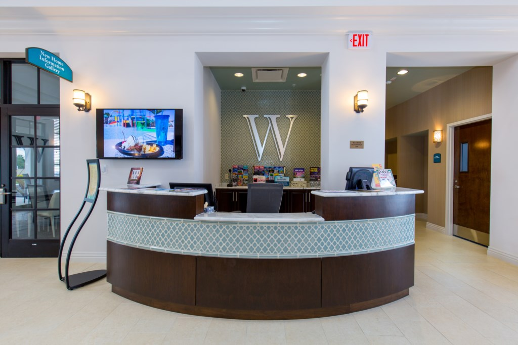 Windsor at Westside clubhouse lobby