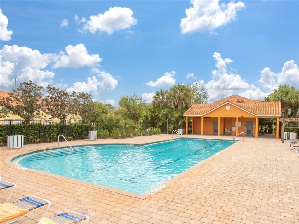 Enjoy the on-site facilities of this large Community Pool.