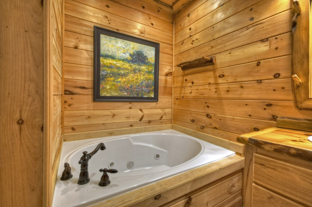 Soaker tub - time to relax!
