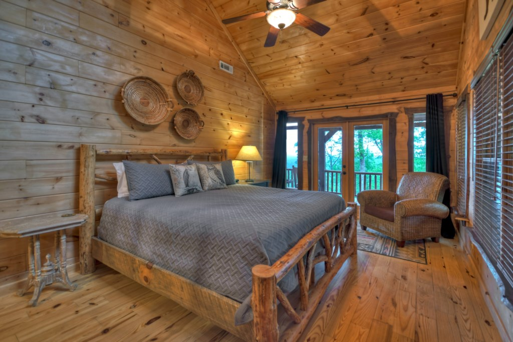 1 of 3 Master Bedrooms - what a view to wake up to!