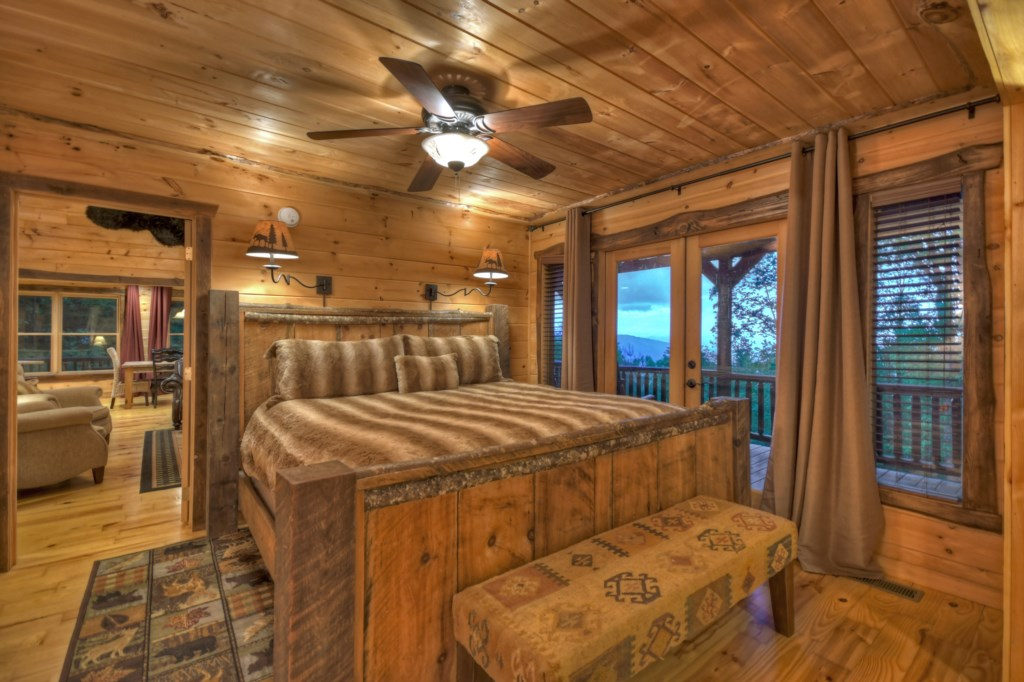 1 of 3 Master Bedrooms with amazing views