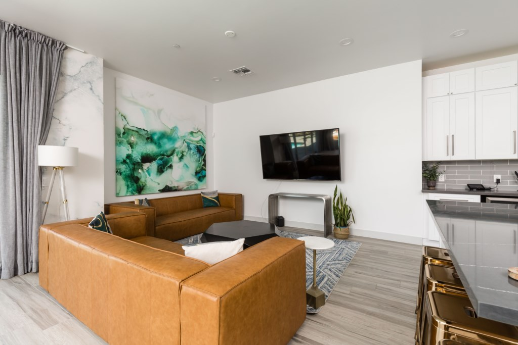 Smart TV in living space