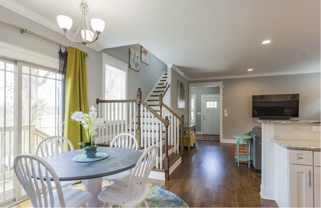 Open living provides the perfect space for a group to enjoy each others company.