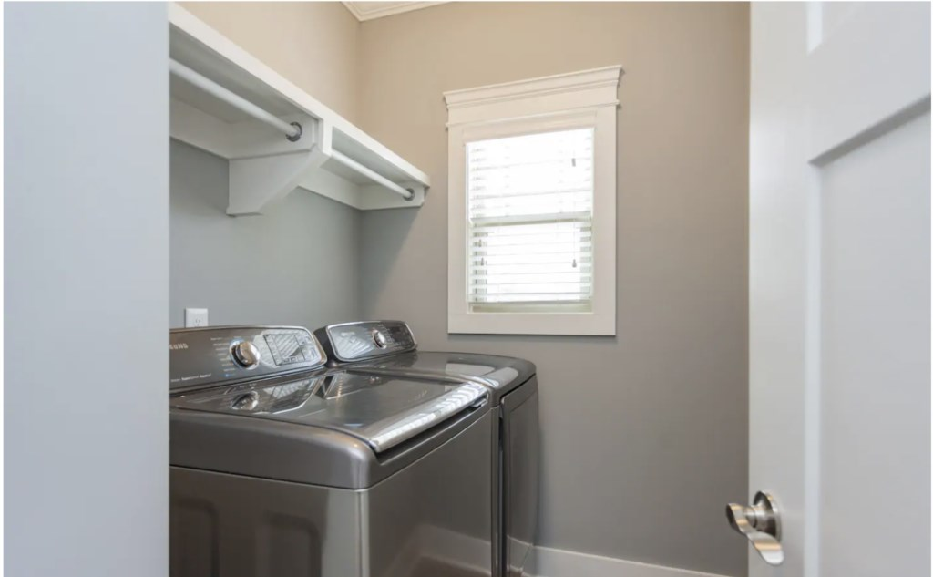 Washer and Dryer in the home