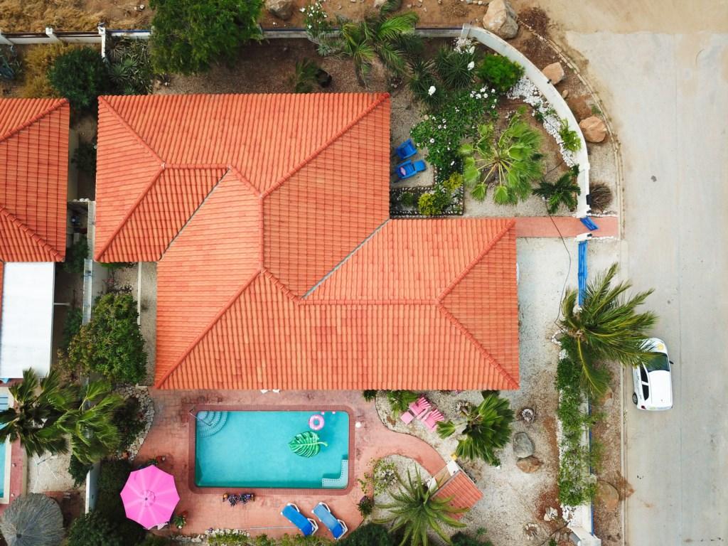 Fully fenced, private villa