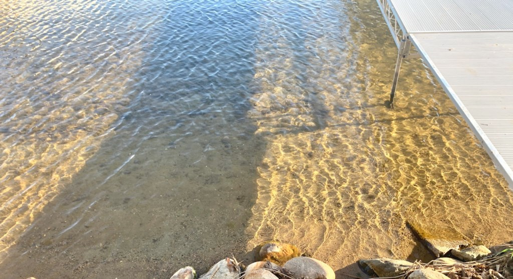 Kids and adults will enjoy hours of fun on this perfect sand bottom shoreline.