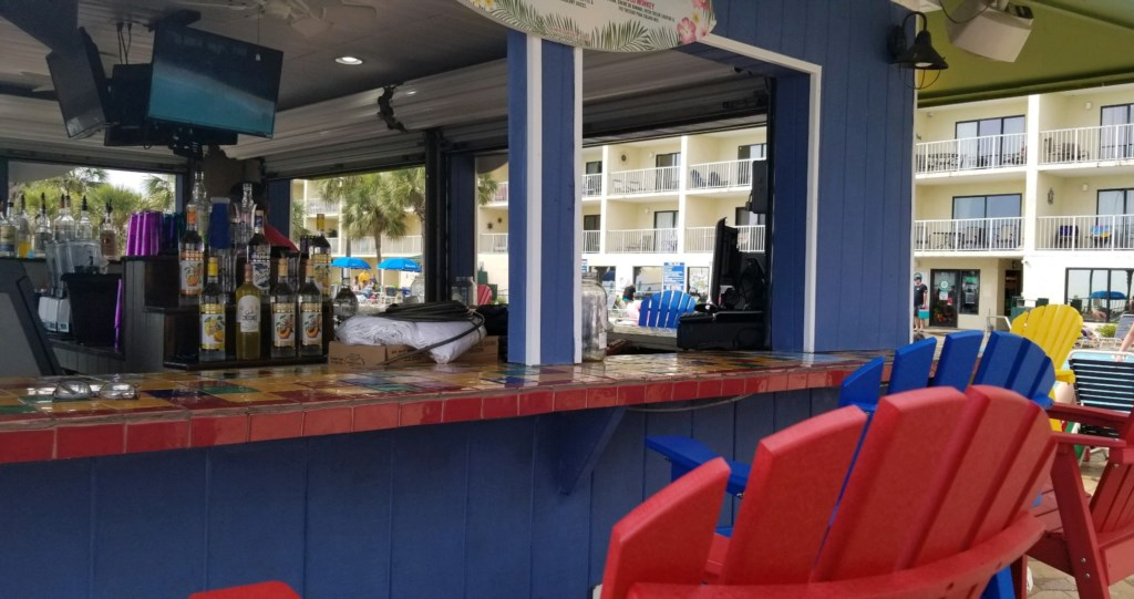 Tiki Bar has TV's for all sports