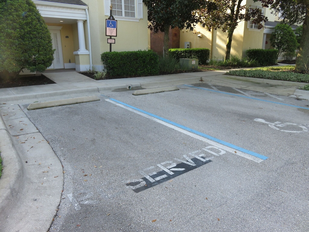 1 car reserved parking There are ample car parking spaces out front of the home