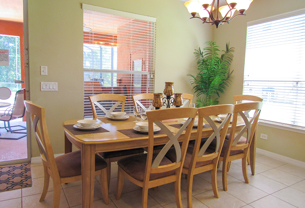 Family dining area.