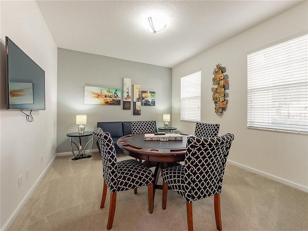 Dinette for Four and Couch Seating
