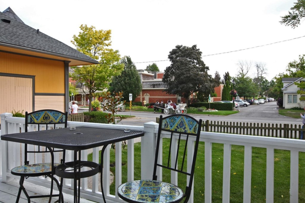 View from the front porch - The White House Vacation Rental - Niagara-on-the-Lake