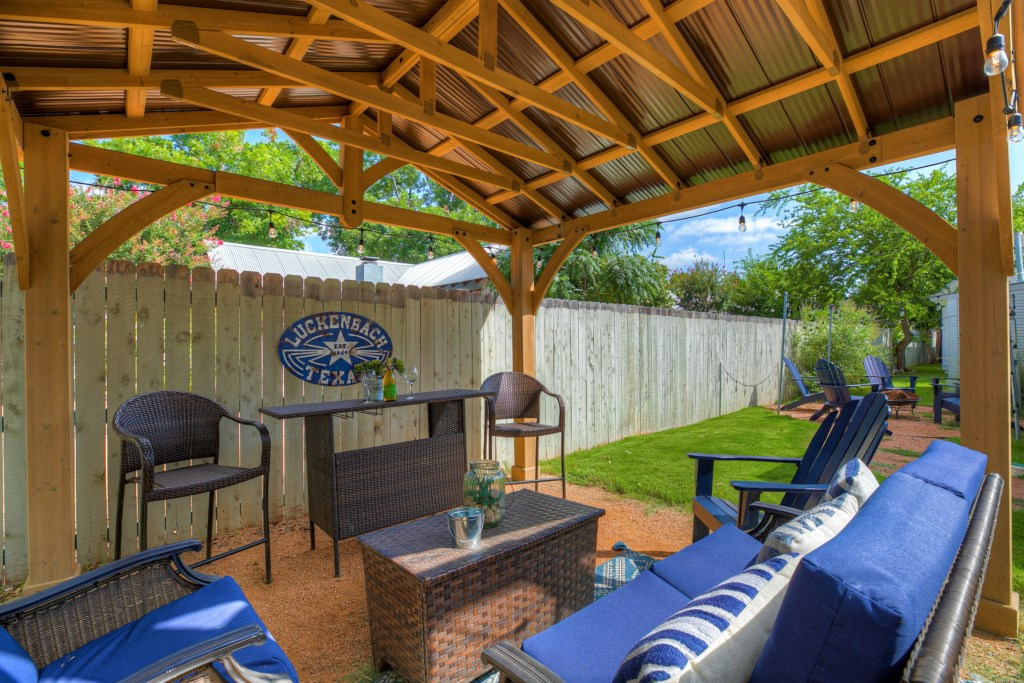 The perfect outdoor space for you and your group to make memories and have a great experience!