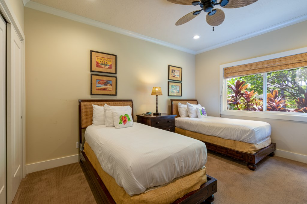 Twin Bedroom perfect for children