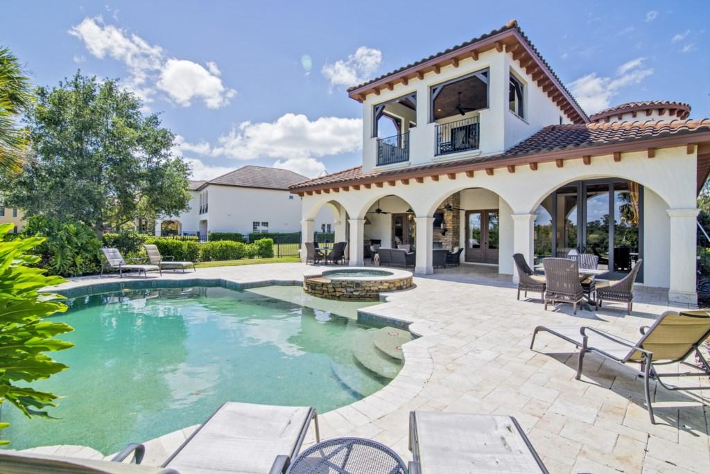 Mediterranean Elegance in Reunion Resort Luxury!
