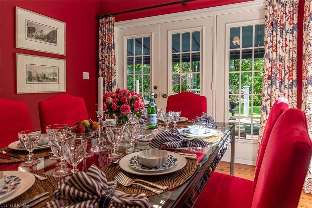 Dining Room - Butler House Vacation Rental - Niagara-on-the-Lake