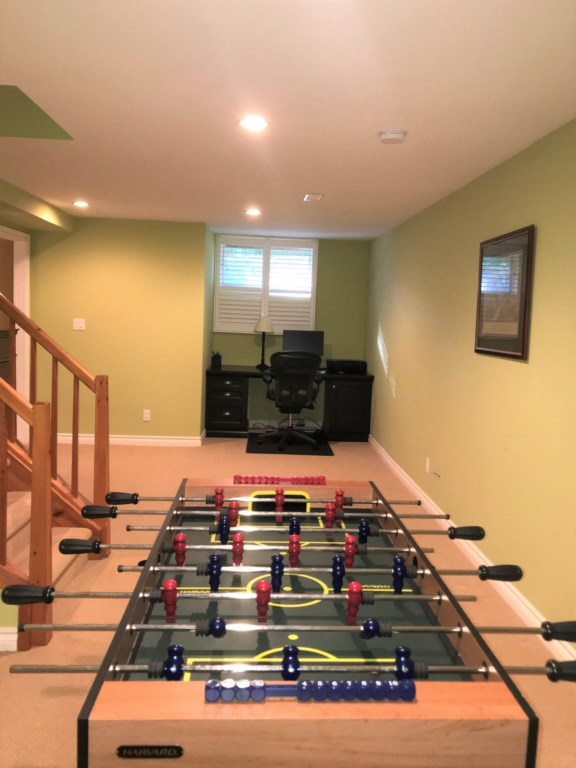 Basement includes desk/work area and foosball table! The Butler House - Niagara-on-the-Lake