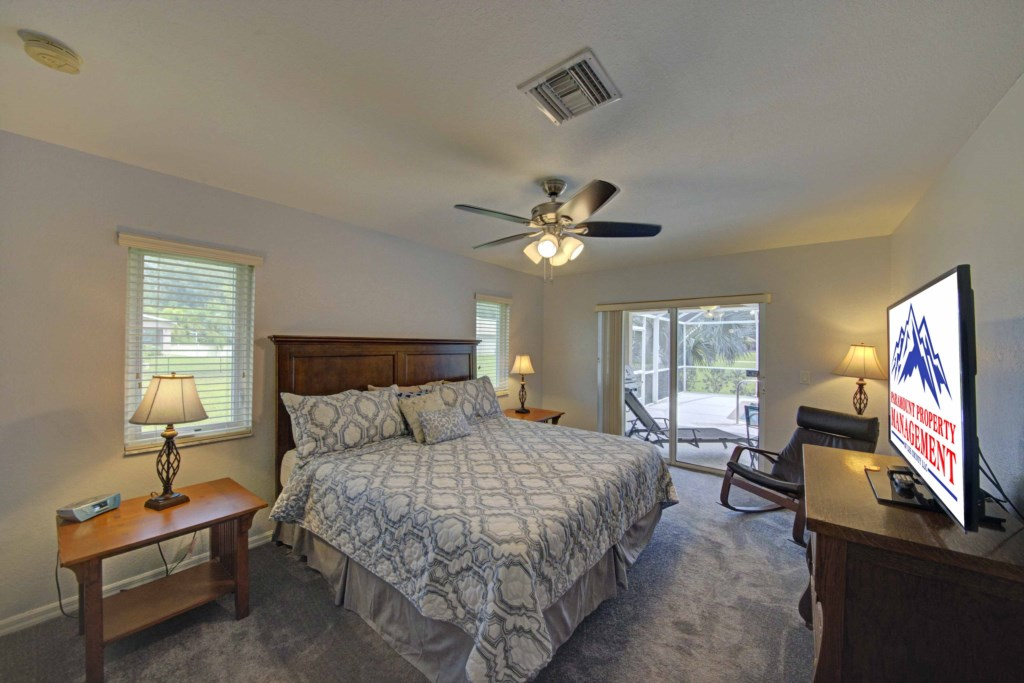 Enjoy the comfortable Master Suite