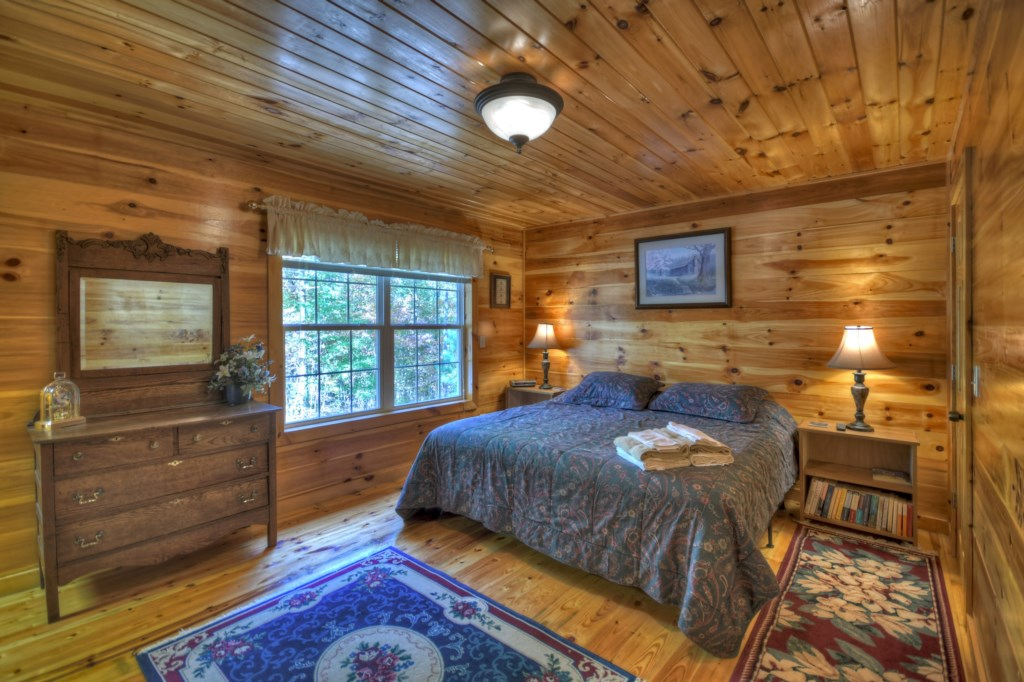 Beautiful woodland view from your bedroom