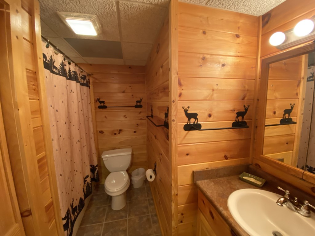 Well equipped bathroom