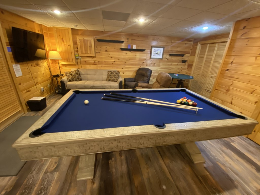 Hang out in the large Game Room and enjoy a game of Pool