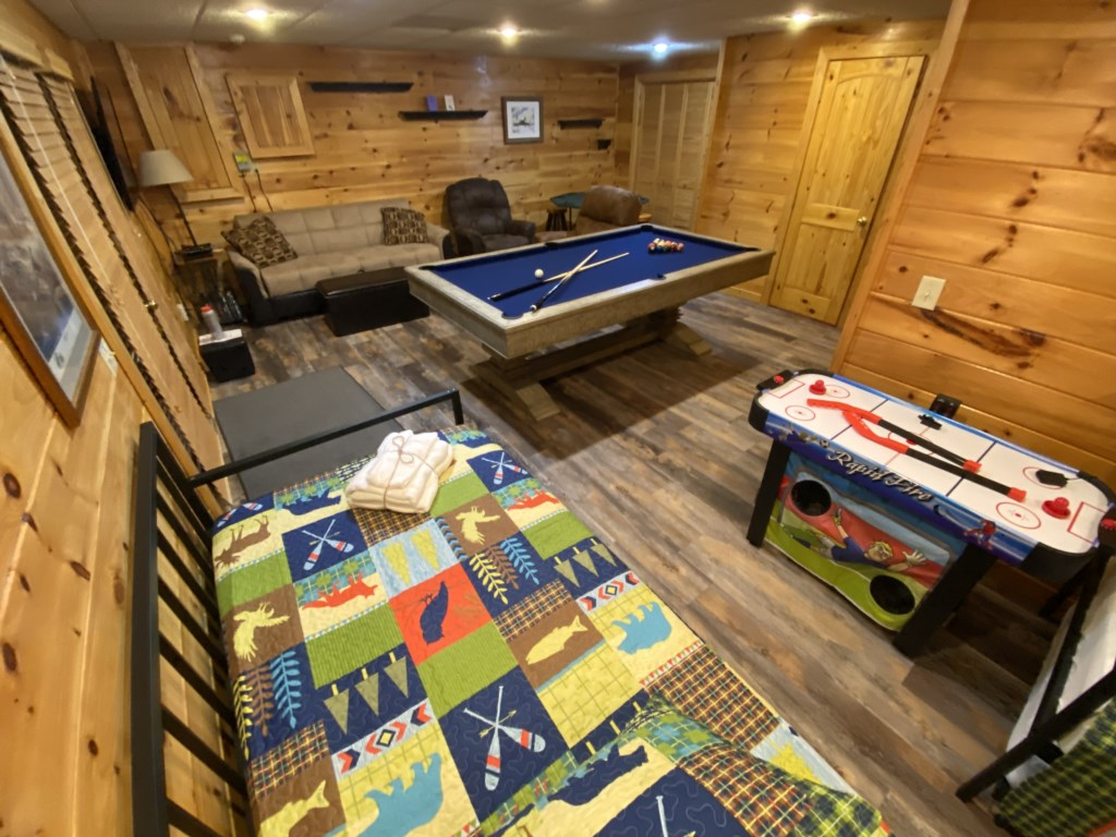 The Game Room also has two Daybeds for additional sleeping