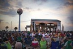 Enjoy bands on the beach every Tuesday night