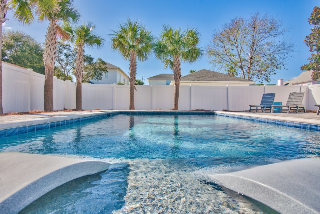 Luxury Home designed with families in mind features 32ftx16ft heated pool
