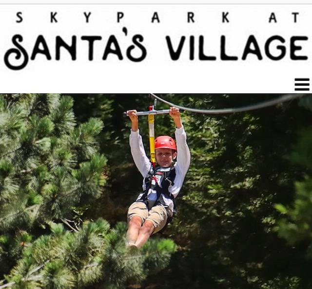 Skypark at Santa's Village offers a variety of attractions, dining, and entertainment depending on the season.