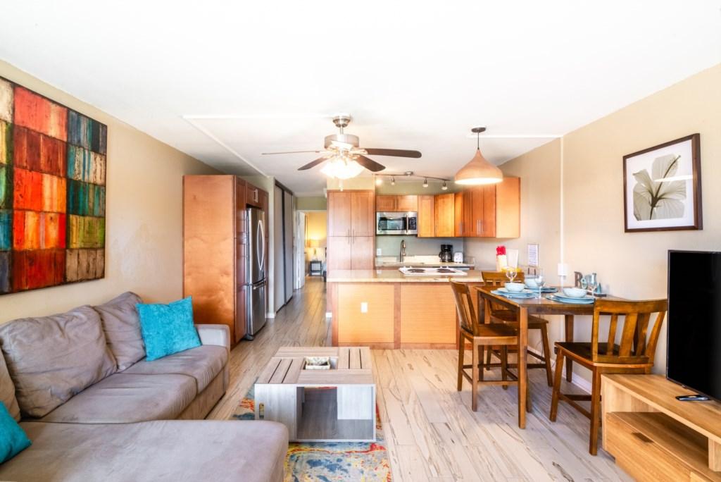 Newly Renovated Open Floor Plan Condo