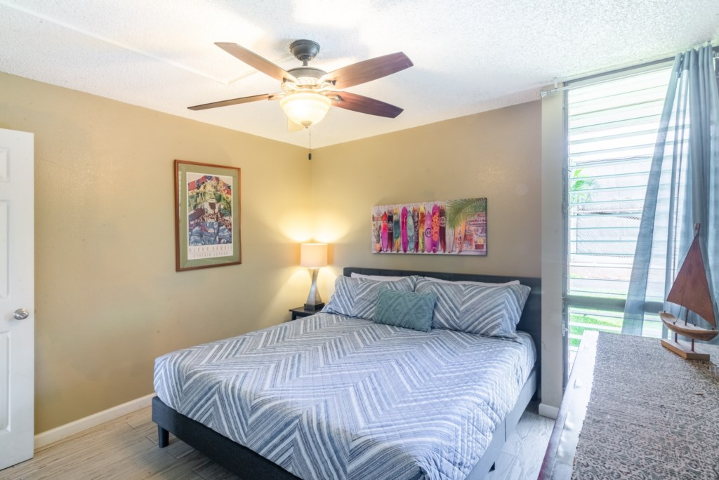Comfortable King Bedroom