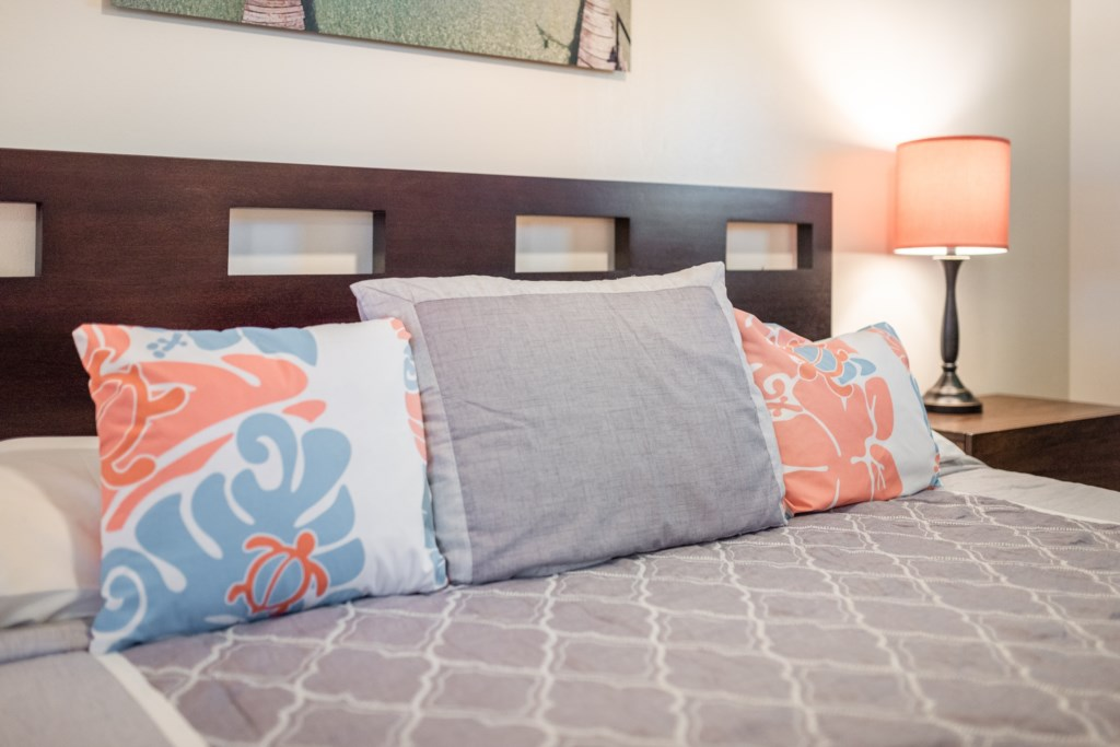 Relax in the Plush Bedding