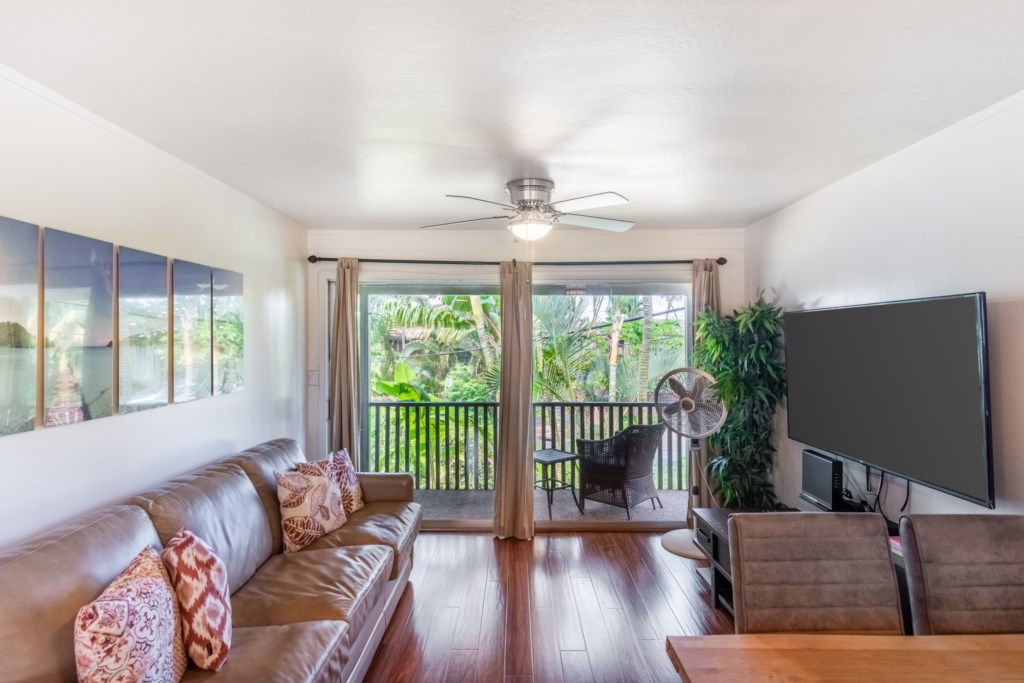 Spacious and Open Condo Steps from the Beach
