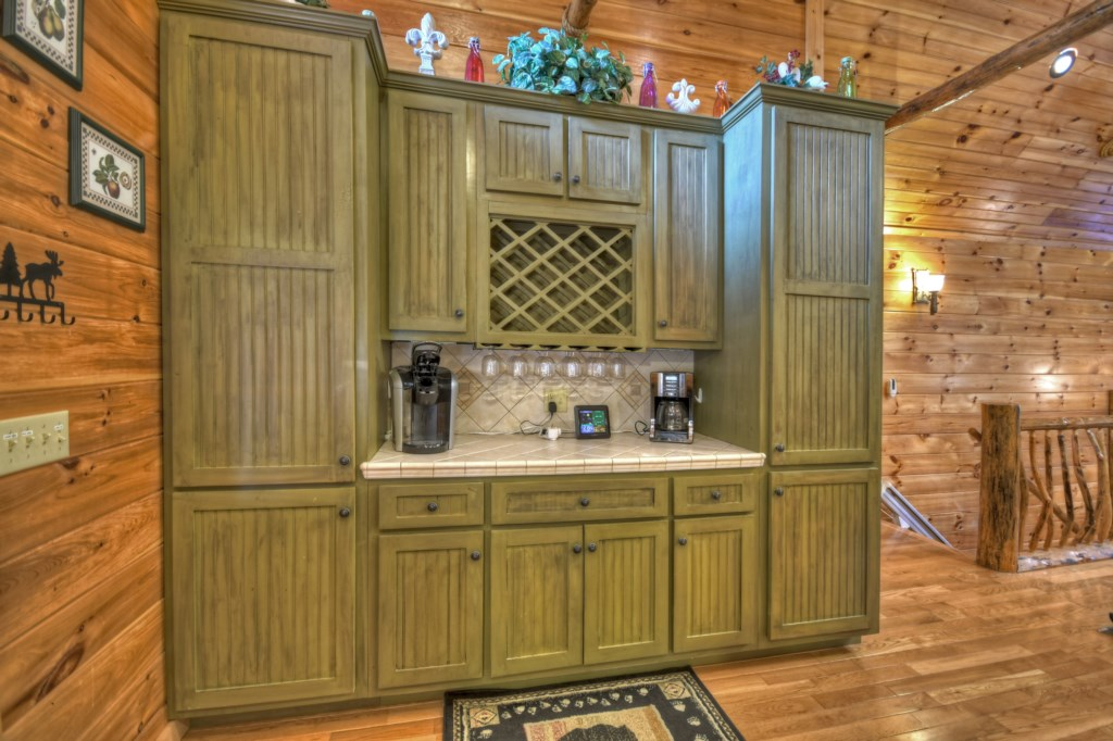 Make your gatherings more entertaining with your Wet Bar area