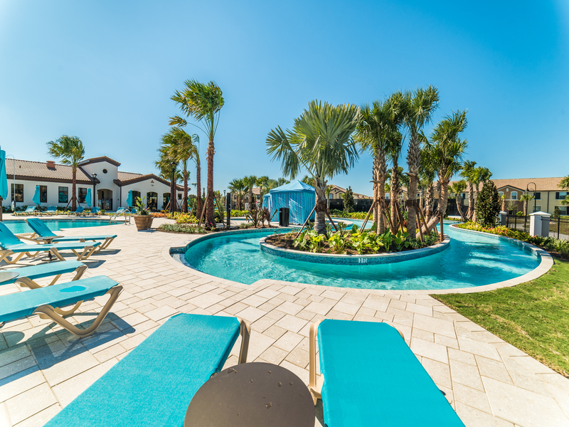 Lazy River at Clubhouse