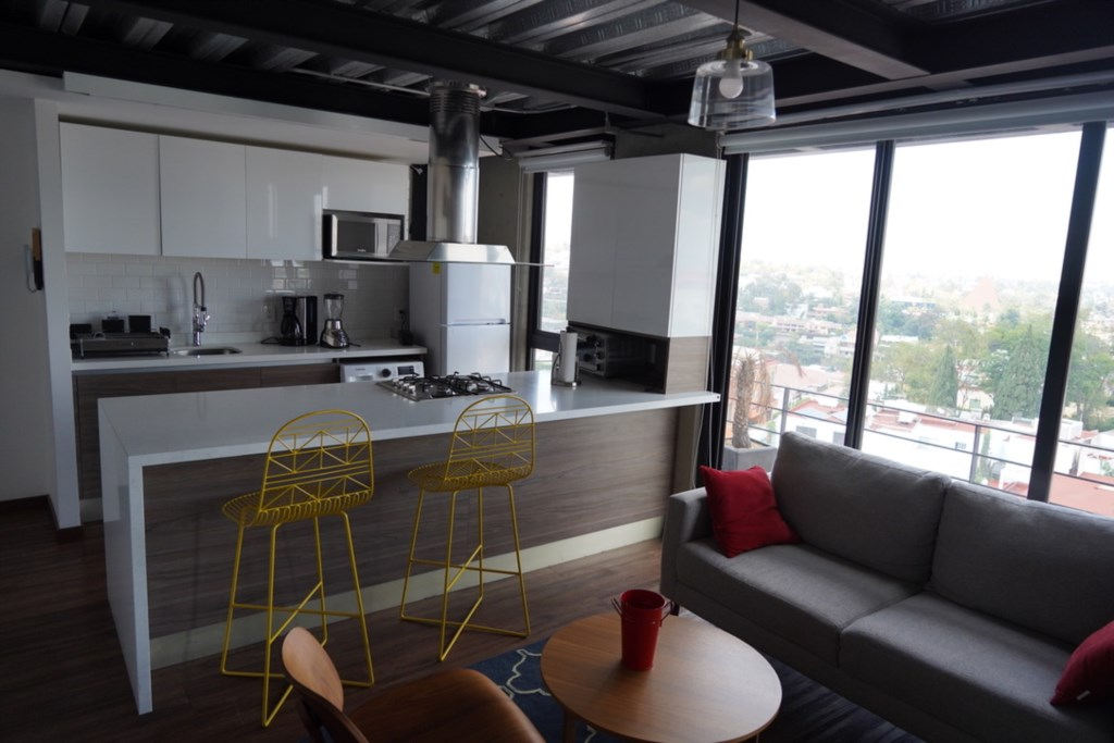 Experience the ease of staying at a fully furnished and equipped apartment