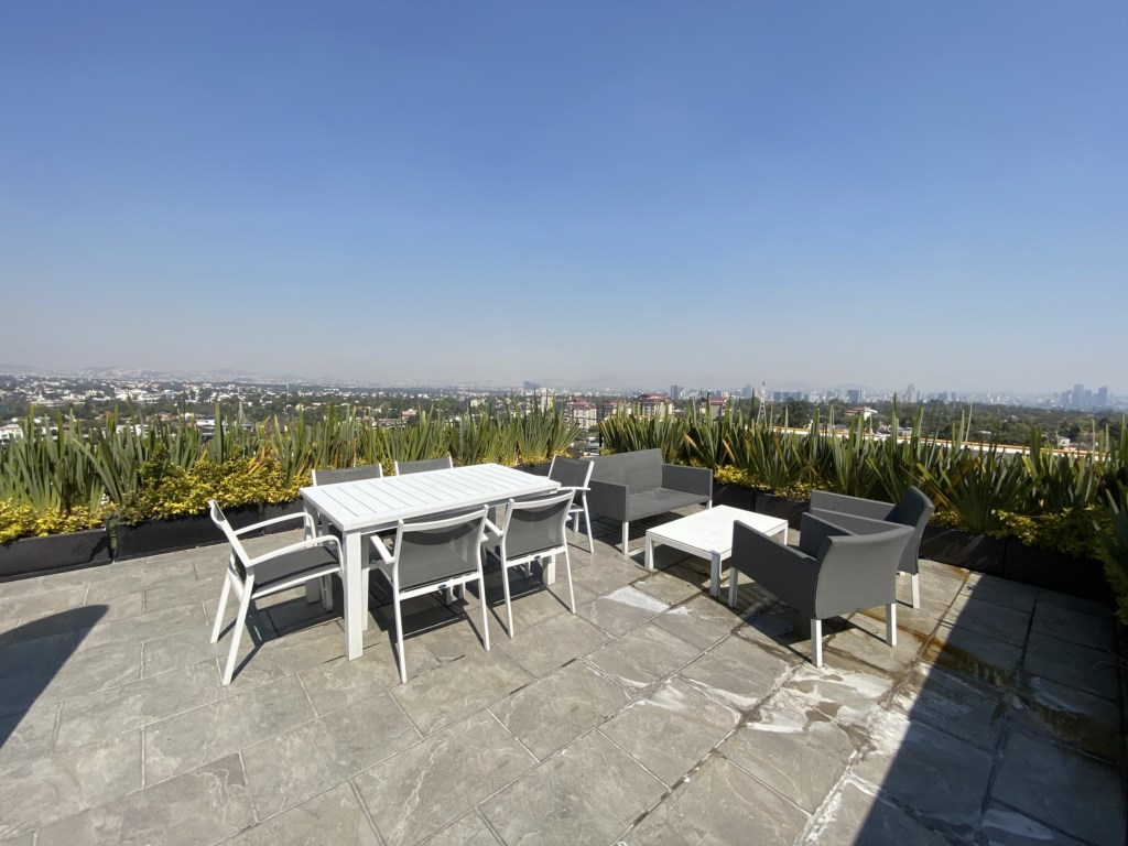 Enjoy the views of the City in the beautiful Rooftop!