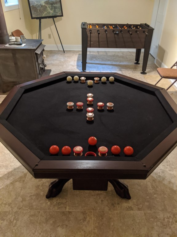 Bumper Pool/Game Table