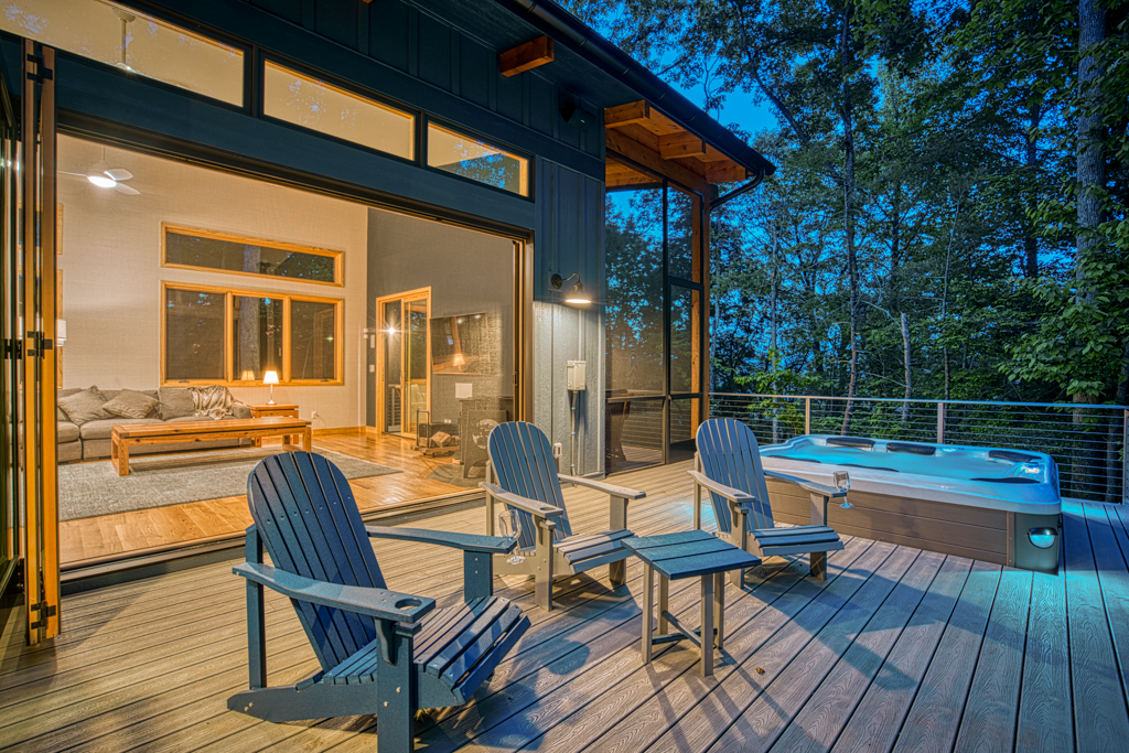 Deck and Great Room