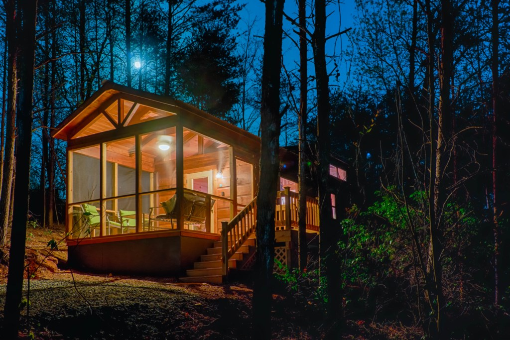 Moon over Cabin F