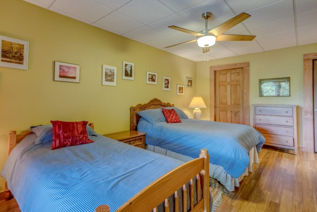 Bedroom 2 downstairs!