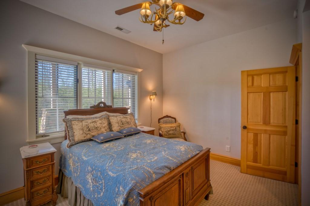Get a good night's sleep in bedroom 1 downstairs