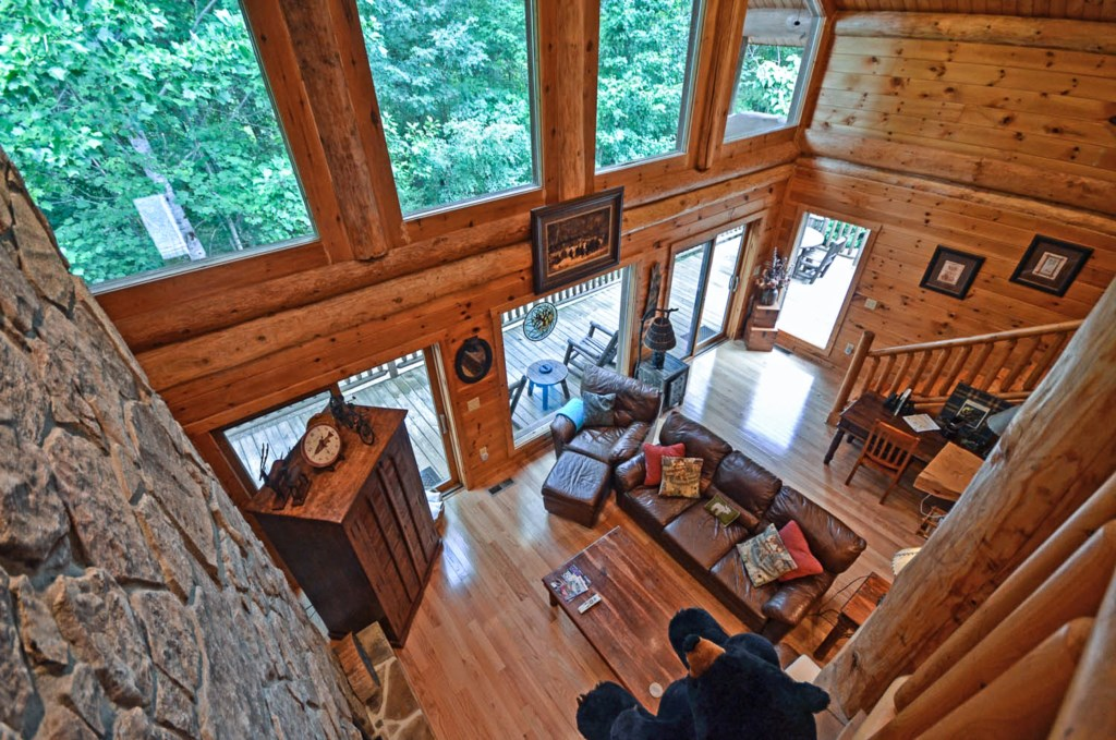 Living Room Top View