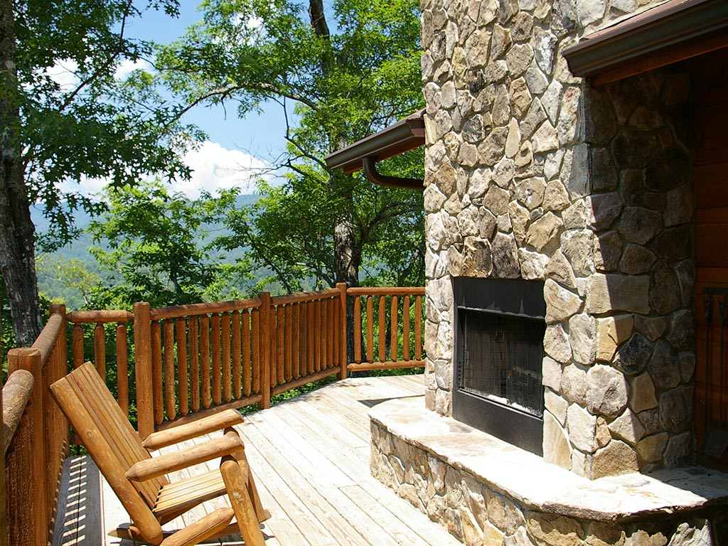 Watershed 9 Outdoor fireplace