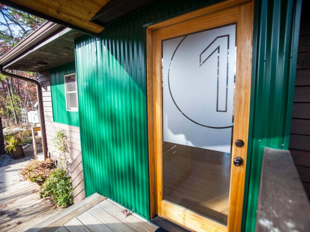 Entry door to Loft 1