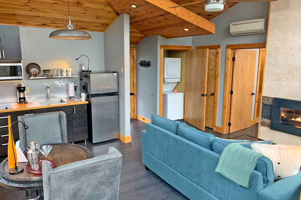 Loft 1 Living Room kitchen