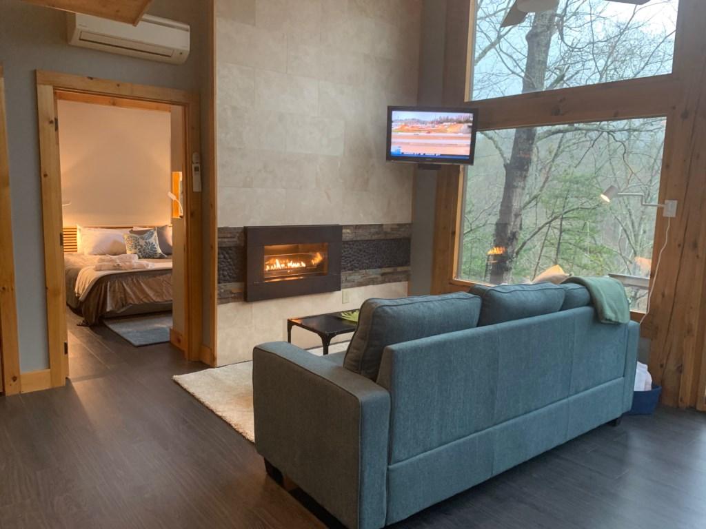 Loft 1 Fireplace