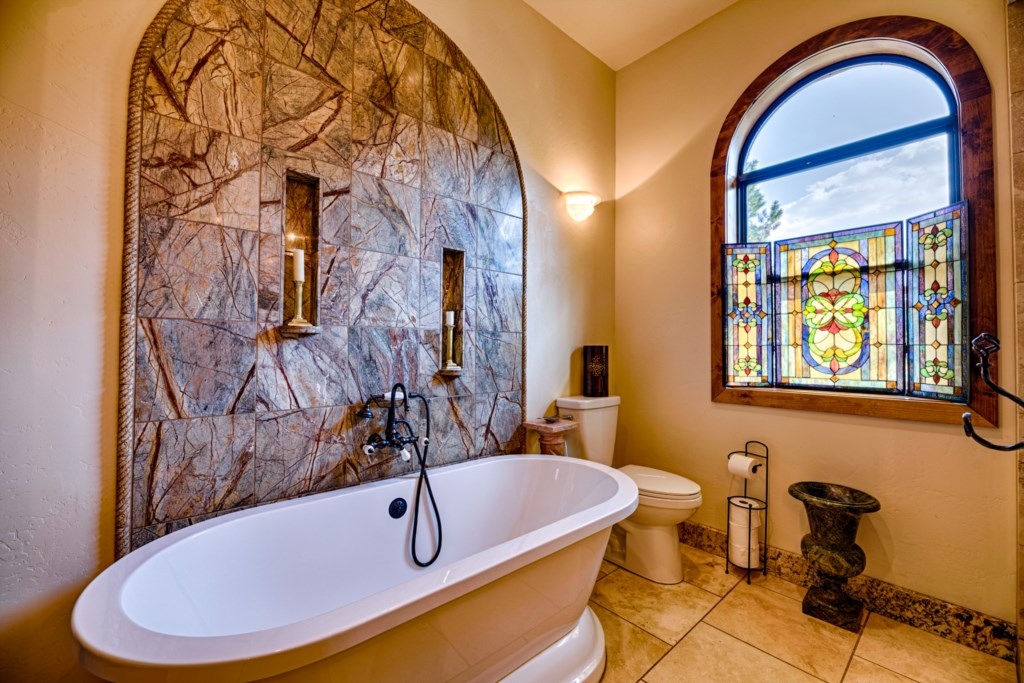 Breathtaking Stone Walls and Stained Glass