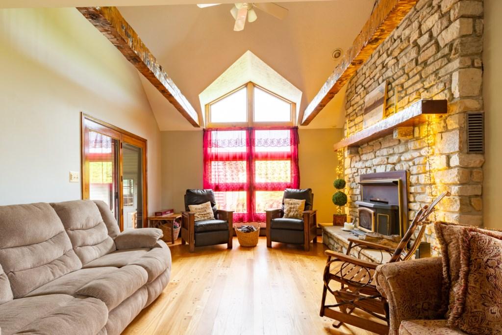 Nice and spacious living room.